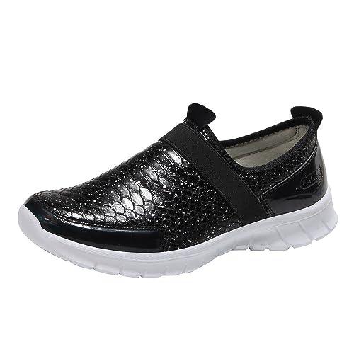 Zapatos Oxford Las Mujeres Alrededor del Dedo del pie Planas de Ocio Zapatos cómodos Zapatillas Deportivas Zapatos de Gimnasia: Amazon.es: Zapatos y ...