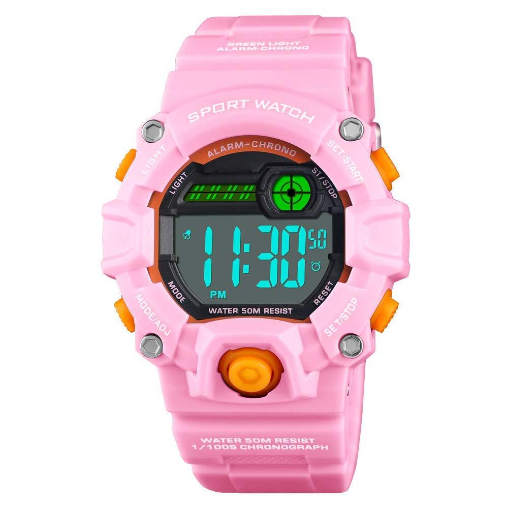 V.JUST Kids Watches for Girls Time Teacher, Digital Kids Watches, Watches for Girls Sale, Wrist Watch Digital for Kids Girls
