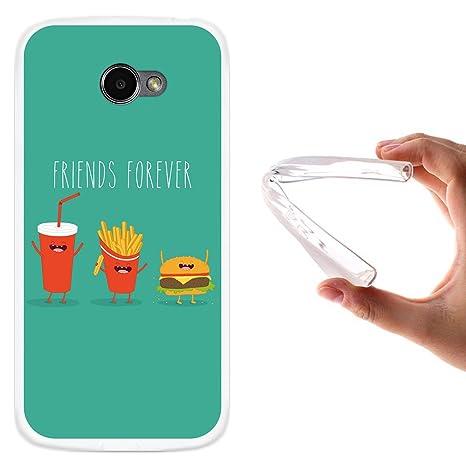 WoowCase Funda LG K5, [LG K5 ] Funda Silicona Gel Flexible ...