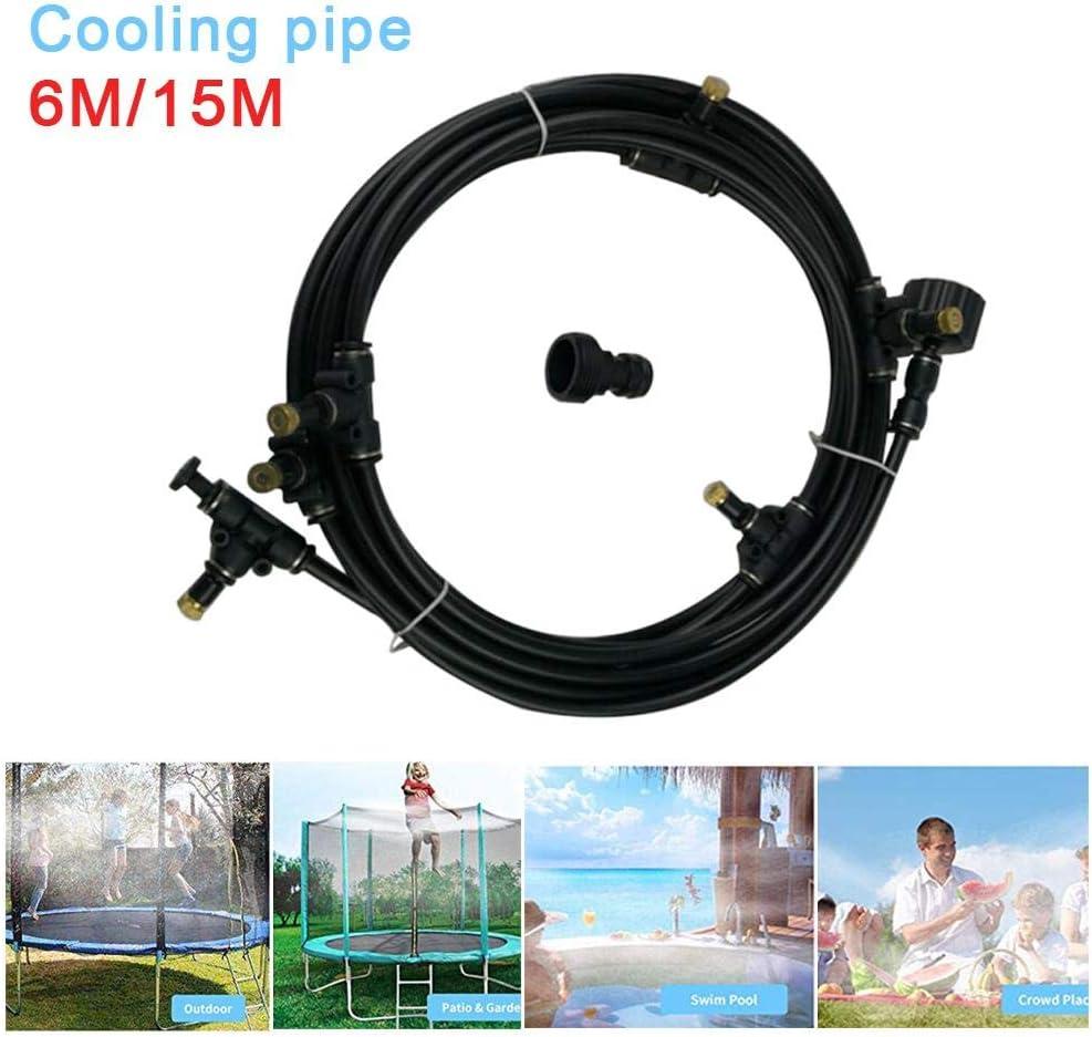 Chalkalon Trampoline Sprinkler Best For Greenhouse Trampoline For Waterpark Outdoor MIsting Cooling System 6M// 15M