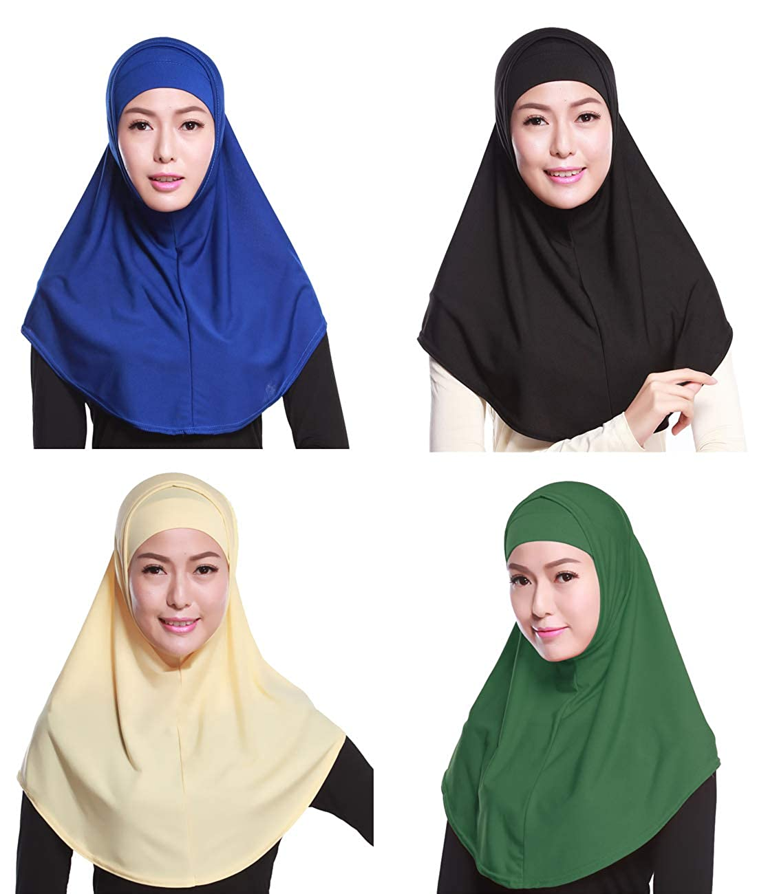 GladThink Frauen-moslemisches Hijab-Schal mit mehr Farben