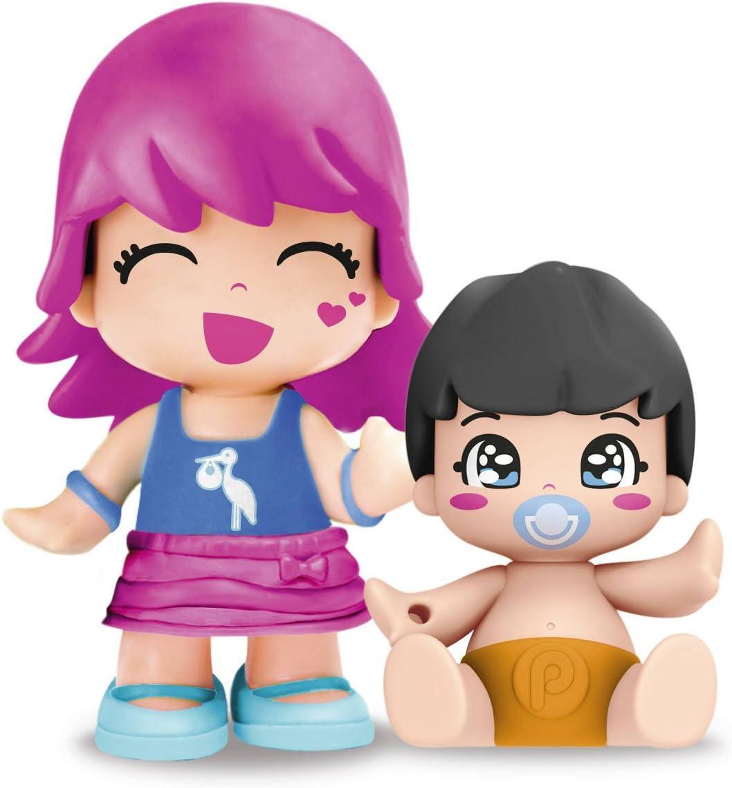 Pinypon - Figurita con bebé sorpresa, pack F (Famosa 700014088): Amazon.es: Juguetes y juegos
