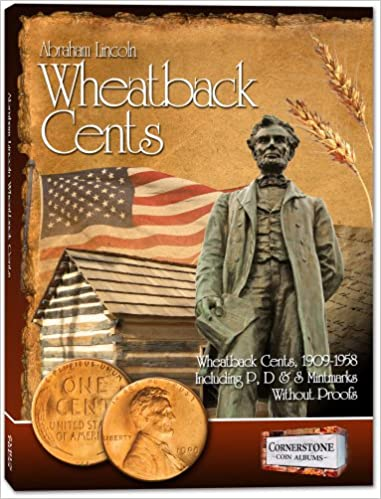 Buy Lincoln Wheatback Cents Album, 1909-1958 P, D & S Book Online at