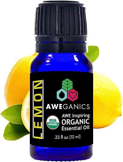 Aceite De Limón Puro De La Marca Usda Aceites Orgánicos Esenciales Limón Cítrico De Primera Calidad 100 Puro De Grado Terapéutico Mejor Aroma A Aromaterapia Para Difusor Piel Cara Baño