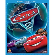 Cars 2 (Two-Disc Blu-ray / DVD Combo in Blu-ray Packaging) (2011)