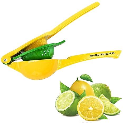 Exprimidor manual de limón United - Hecho de aluminio – Exprimidor de cítricos – Diseño único