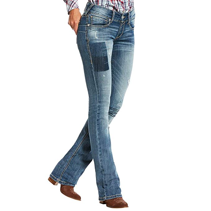 eeaeabb6e ARIAT Real Low Rise Boot Vine at Amazon Women s Jeans store