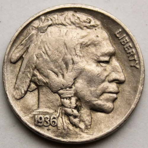 1936 S Buffalo Nickel Nickel VF-20 ()