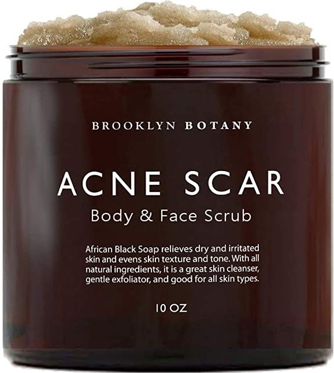 Amazon Com Brooklyn Botany Acne Scar Body Scrub Face Scrub
