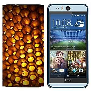 EJOOY---Cubierta de la caja de protección para la piel dura ** HTC Desire Eye M910x ** --Resumen Patten Honeycomb