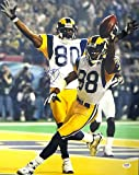 Isaac Bruce Signed 16 x 20 Photo St. Louis Rams - PSA/DNA Authentication - Autographed NFL Football Photos