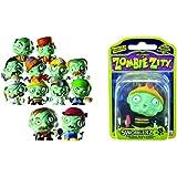 MM Spezial Zombie Zity Figurine avec 12 cartes d'identité de zombies assorties