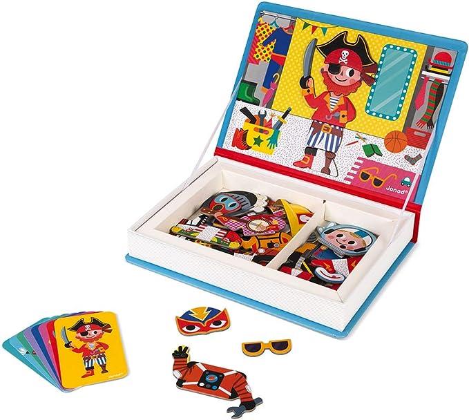 PAW PATROL Gioco magnetico libro rilegato divertente con 16 magneti