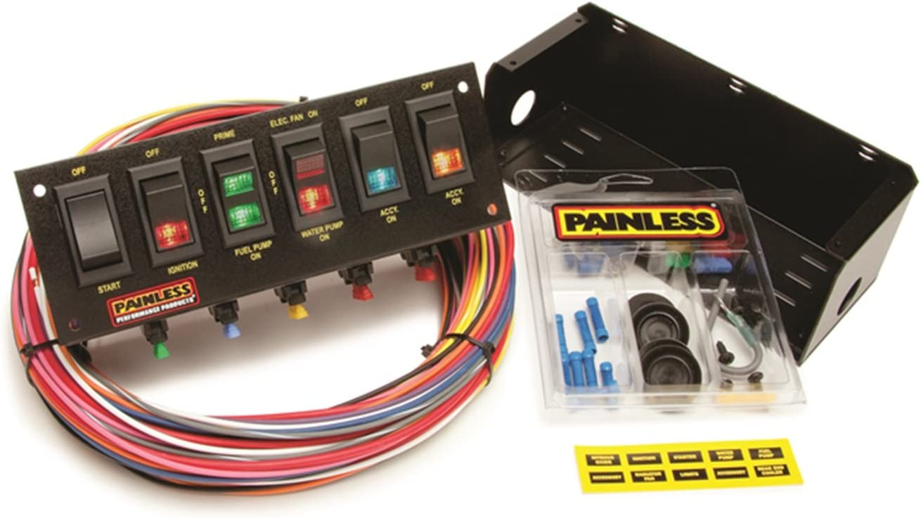30 Race Car Switch Panel Wiring Diagram