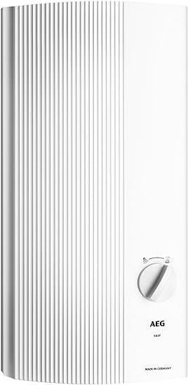 AEG 228842 DDLE 24 Easy - Calentador de agua eléctrico (24kW, 400 V), color blanco