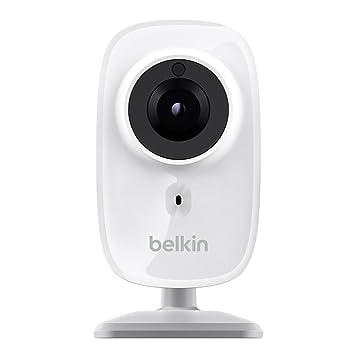 Belkin NetCam HD F7D7602as - Cámara Wi-Fi en HD con visión nocturna (gran