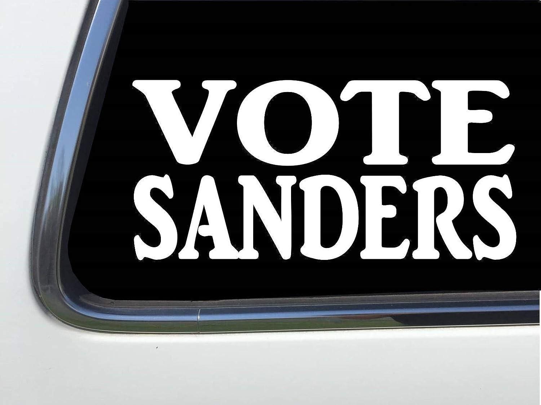VOTE SANDERS Vinyl 6 Decal sticker HM1755 Thatlilcabin