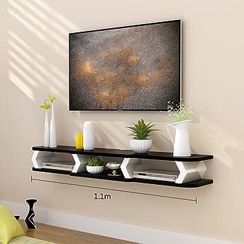 Königlich HWF TV Schrank Set Top Box Wohnzimmer TV Wand ...