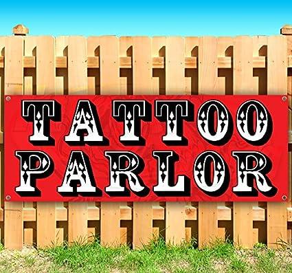 Tattoo Parlor - Cartel de vinilo resistente con ojales de ...