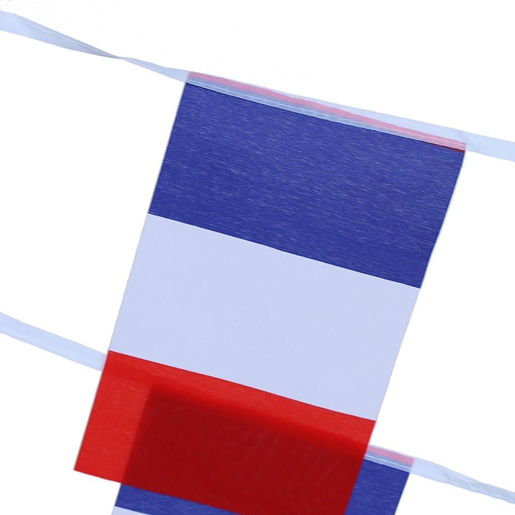 Drapeau Britannique 10m Cha/îne de Drapeau Guirlande Banni/ère Banderole D/écoration
