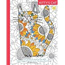 Kitty's Cat: Book One: Colouring Book for Adults: Twenty Patterned, Paper Cats. Essential in Any Colouring Book for Grown-ups Collection. A Perfect gift for a Cat Lover (Volume 1)