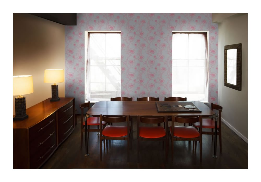 Amazon Tempaper Peonies Self Adhesive Temporary Wallpaper Rouge Home Kitchen