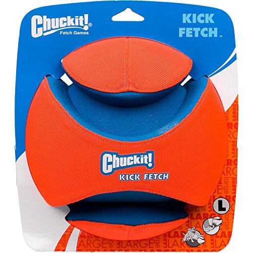 Chuckit Kick Fetch Toy Ball for Dogs