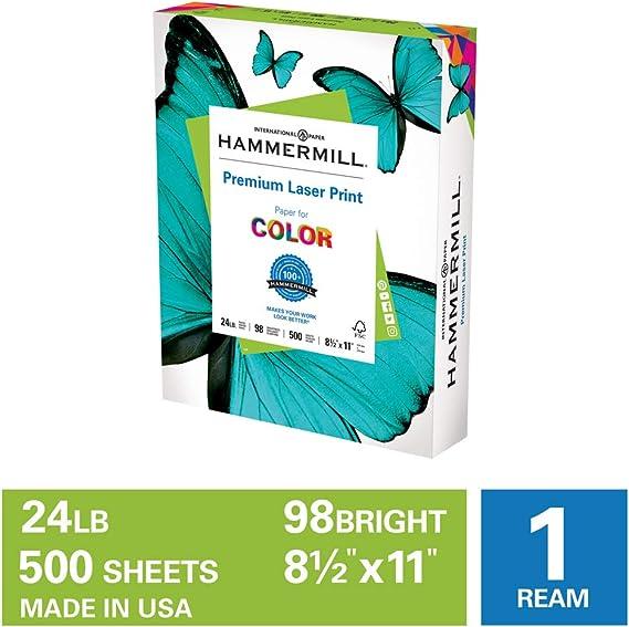 Hammermill Premium Laser Print 24lb Copy Paper