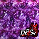 Galaxy 3 Hydrographic Water Transfer Film Hydro Dipping Dip Demon