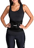 YIANNA Women's Breathable Waist Trainer Tummy Belt-Body Shaper Belt for Hourglass Shaper
