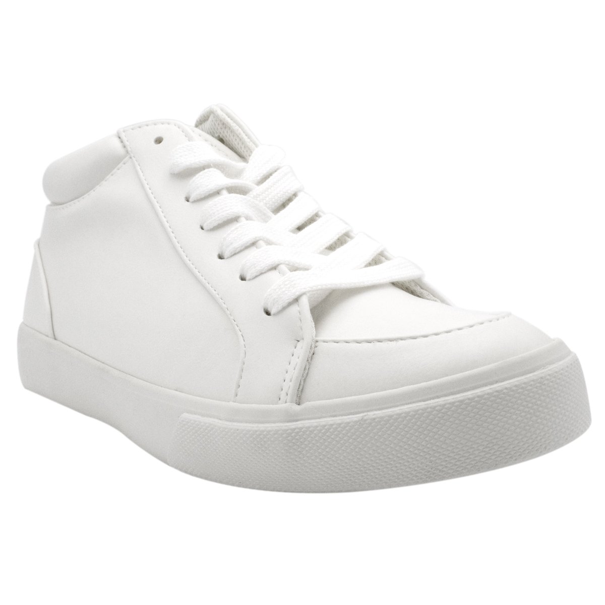 White Pu T Premier Standard Women's Casual Walking shoes - Easy Everyday Fashion Slip on