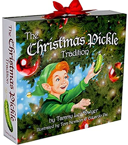 Christmas Pickle Tradition.The Christmas Pickle Tradition Hardcover Box Set