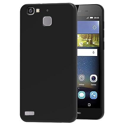 iVoler Funda Carcasa Gel Negro para Huawei P8 Lite Smart ...