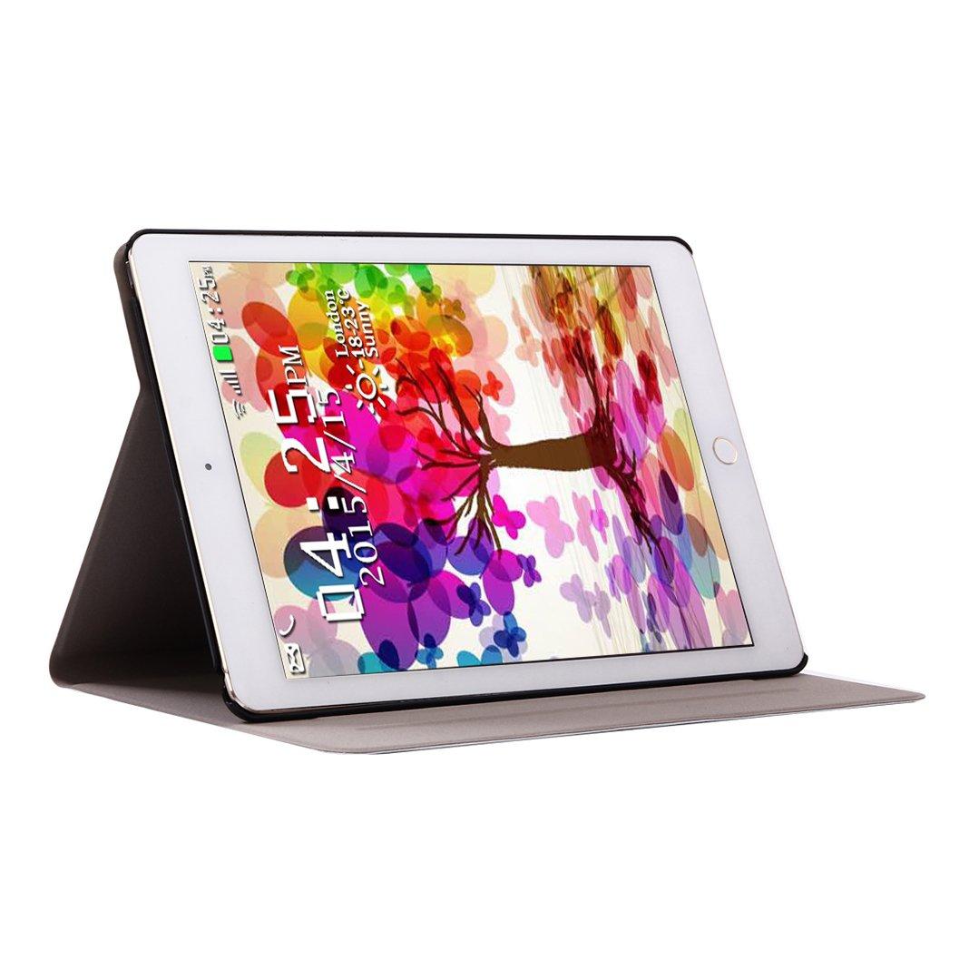 Moon mood Cas tui pour Apple iPad 2/3/4 9.7 Pouces PU Cuir dur ...