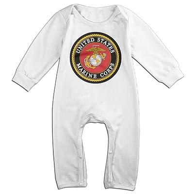 Daisyly USMC (United States Marine Corps) Cute Long Sleeve One Piece Bodysuit