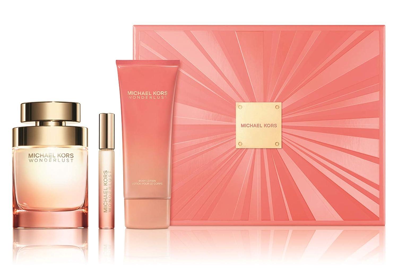 255688f5c501 Amazon.com   Michael Kors Wonderlust by Michael Kors 3 Piece Gift Set - 3.4  Oz Eau De Parfum Spray
