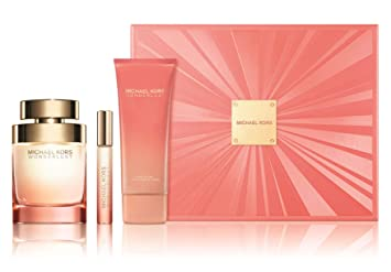 74cd55fce4a7 Amazon.com   Michael Kors Wonderlust by Michael Kors 3 Piece Gift Set - 3.4  Oz Eau De Parfum Spray