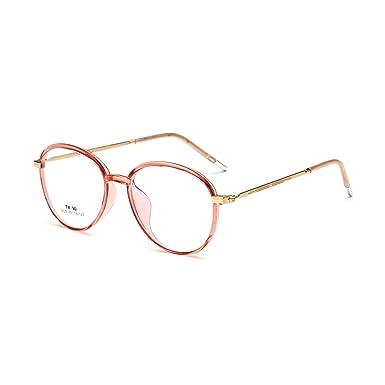 cc187041944 Round Optical Glasses Frame Retro Vintage Eyeglasses Light Oversized Eyewear