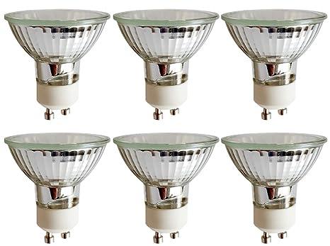 6 Stück Osram 64820 ST FL Halopar 16 Aluminium Halogen-Reflektor 230V GU10 35W [EEK D]