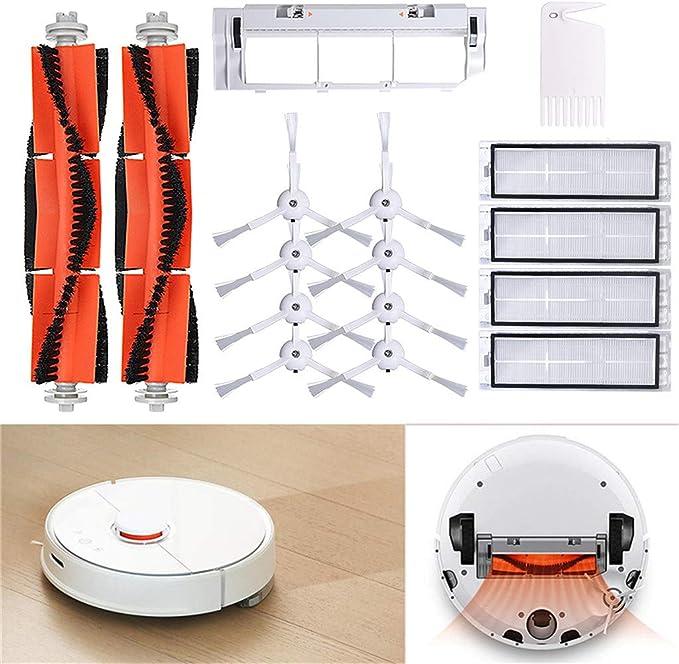 Rifuli® Accesorios para aspiradora Vacuum Cleaner Replacement Parts Suitable for XIAOMI Robot Vacuum Main Brush Kehrender Robot accesorios 0510#006: Amazon.es: Hogar