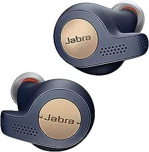 Jabra Elite Active 65t Kulak içi Kulaklık – Kablosuz Aramalar, Müzik ve Kondisyon Takibi için Hareket Sensörlü, Pasif Gürültü Önleyici Bluetooth Spor Kulaklıklar – Bakır-Mavi