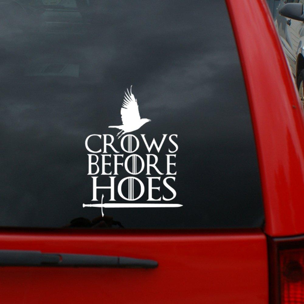 【全商品オープニング価格 特別価格】 Game of Thrones B07BT19WNB Vinyl – Crows Before Hoes – Jon Thrones Snow – 6