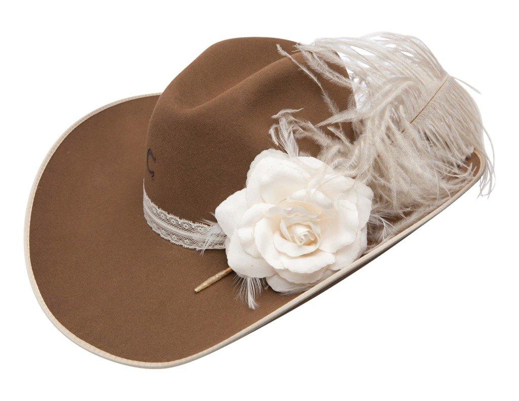 Charlie 1 Horse ''Ellie Mae'' Girls Felt Hat