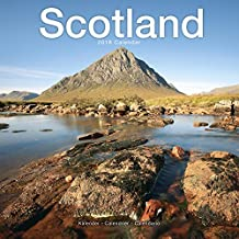 Scotland Calendar - Calendars 2017 - 2018 Wall Calendars - Photo Calendar - Scotland 16 Month Wall Calendar by Avonside