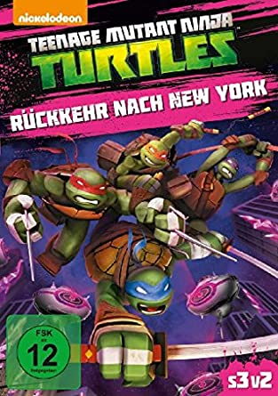 Amazon.com: Teenage Mutant Ninja Turtles: Rückkehr nach New ...