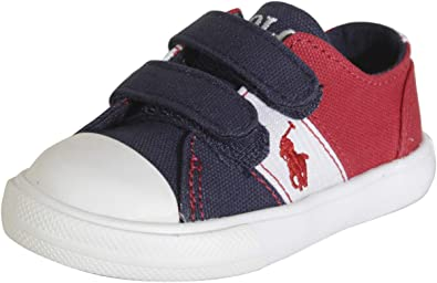 Polo Ralph Lauren Unisex-Child Lewis Ez Sneaker