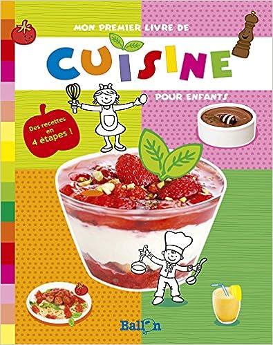 Livres gratuits Mon premier livre de cuisine epub, pdf