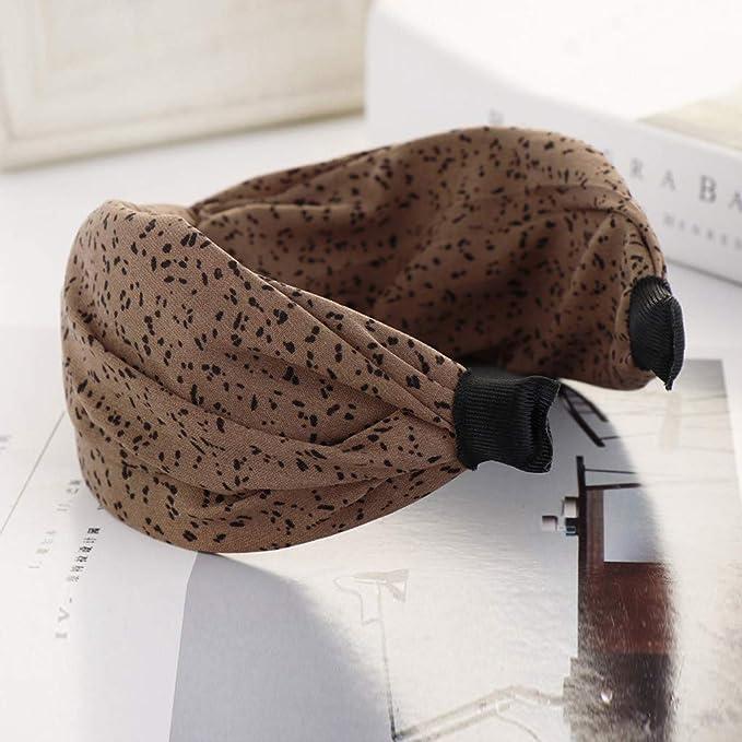 Frauen Haarband Stirnband Niedlichen Twist Bogen Knoten Streifen Draht Zubehör