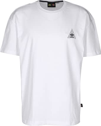 9d60dc7c0 adidas Originals Mens Mens Pharrell Williams Human Boxy T-Shirt in White -  XS  adidas Originals  Amazon.co.uk  Clothing