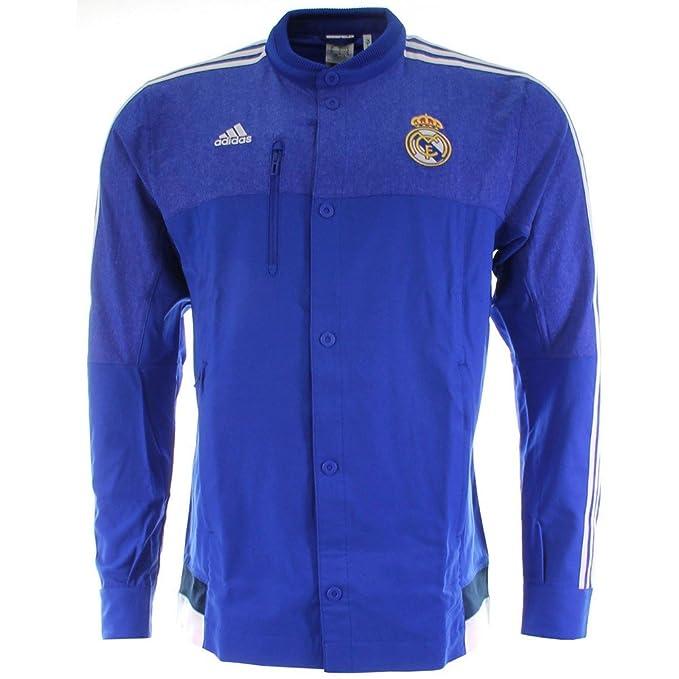 Amazon.com: adidas Mens Real Madrid Himno chamarra m36393 ...